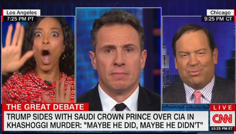 CNN's Angela Rye Explodes After Steve Cortes Claims Trump's Not Attacking Freedom Of Press