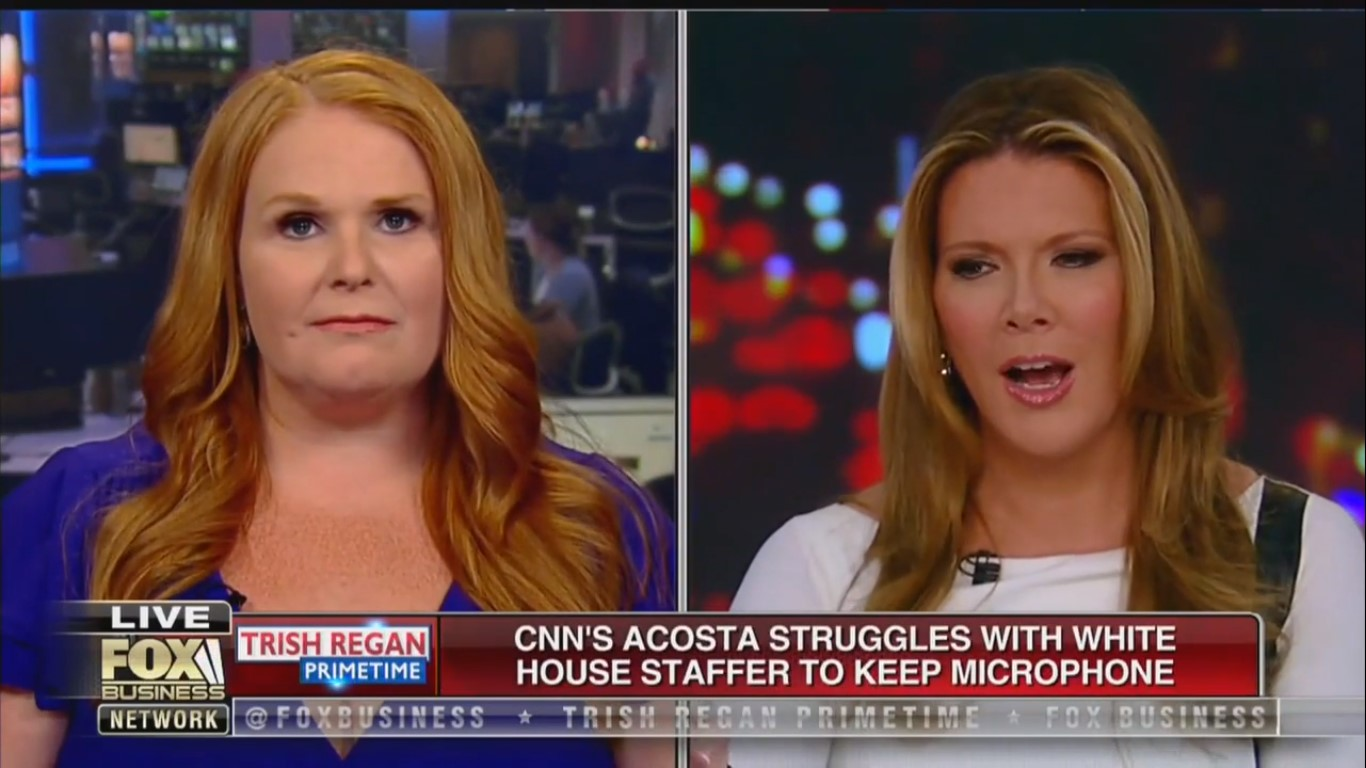 Trish Regan To Guest: You Know About Sexual Assault, Tell Us About Jim Acosta 'Wrestling' That Woman