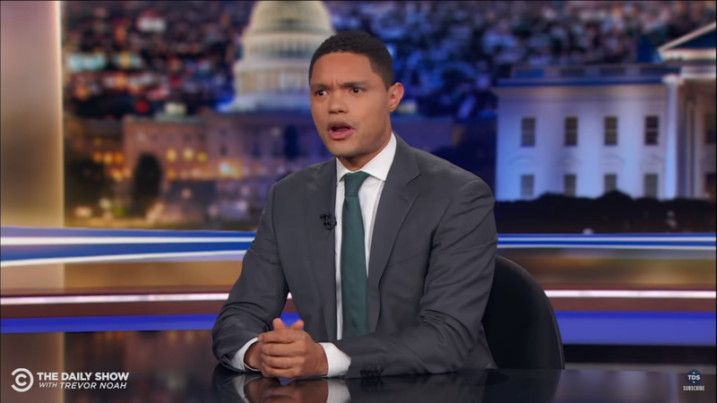 Watch: Trevor Noah Says The Second Amendment Is Not For Black People In Passionate Speech On Shootings