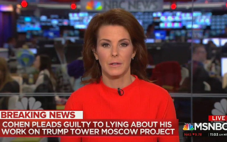 Stephanie Ruhle After Michael Cohen Bombshell: 'This Is Why We Call The President A Liar'