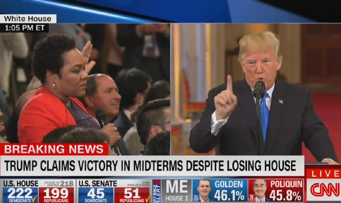 Trump Accuses Black Reporter Of Being 'Racist' For Asking About White Nationalism