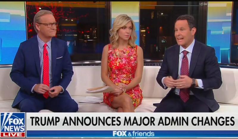 Fox & Friends' Brian Kilmeade Advocates For Fox News Contributor To Be New Trump Chief Of Staff