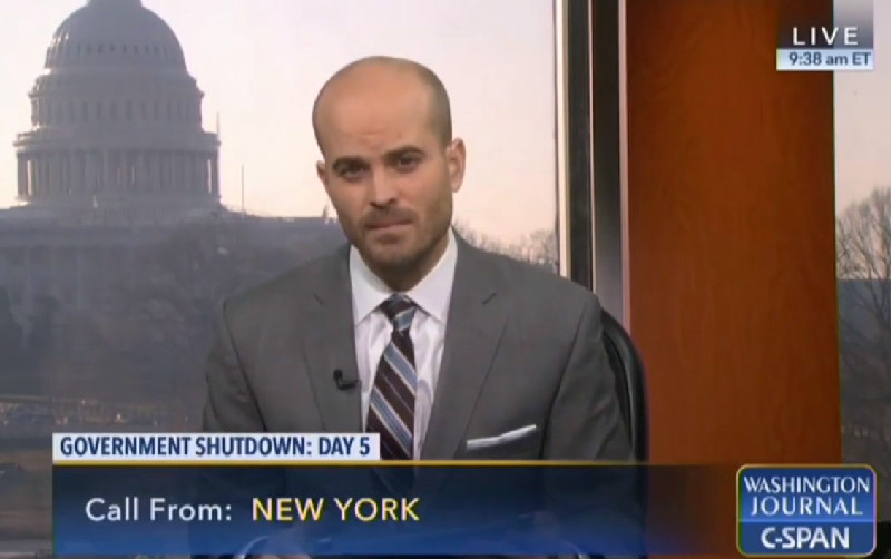 C-SPAN Caller: Trump Will Build 'Golden Wall,' Shutdown Brings Us Closer To Second Coming Of Christ