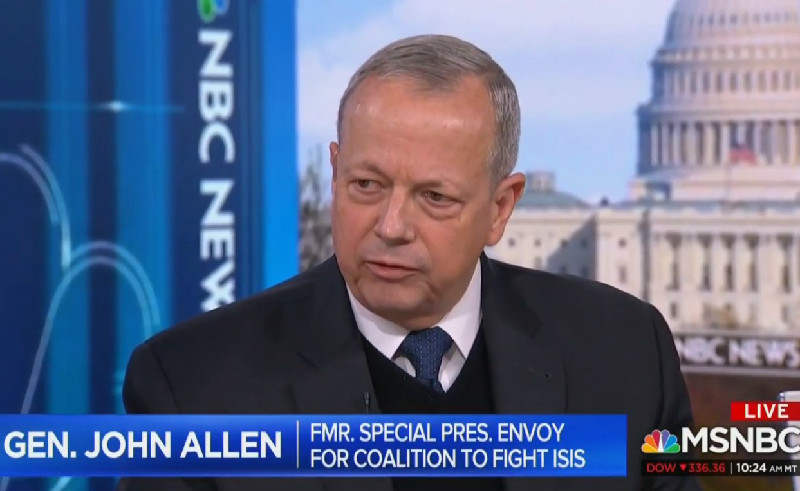Retired 4-Star General John Allen: Trump's 'Not Qualified To Invoke Sacrifice' Of Fallen Troops