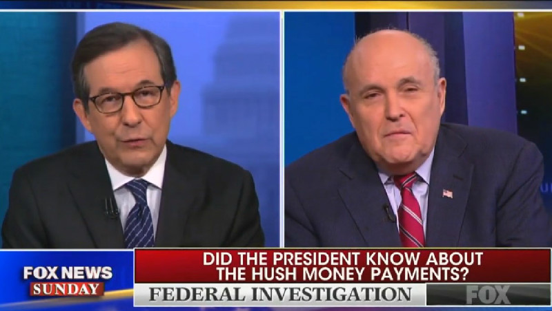 Chris Wallace Goes Full 'A Few Good Men' On Giuliani: 'I'm Asking You For The Truth, Sir!'