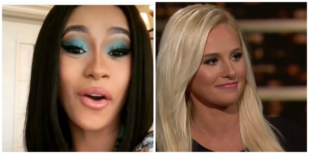 Cardi B Drags Tomi Lahren For Mocking 21 Savage: 'Don't Make Me Get My Leash'