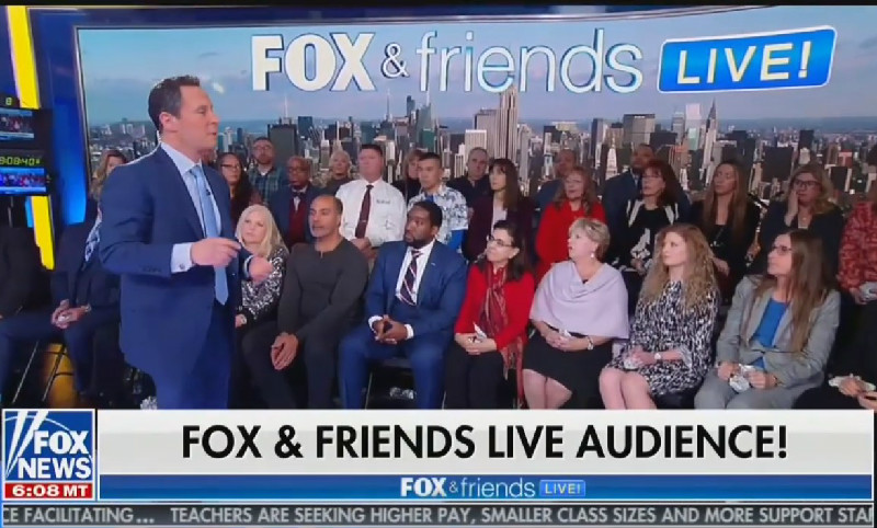 WATCH: Fox News Host Asks Studio Audience How They Can Be More Effective Trump Propagandists