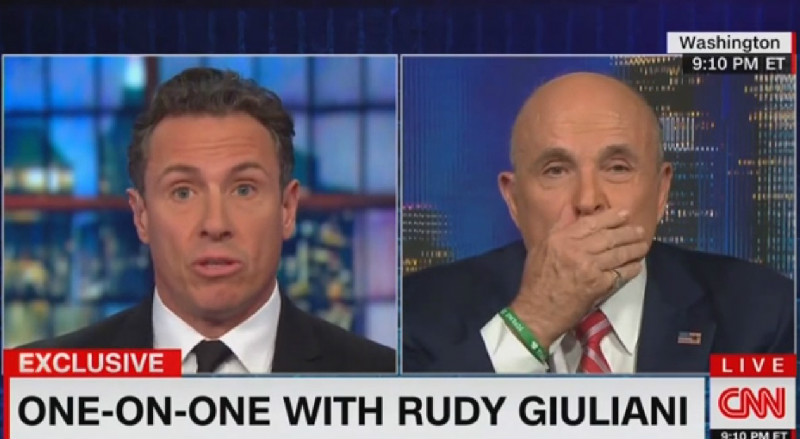 Rudy Giuliani: 'I Never Said There Was No Collusion Between' Trump Campaign And Russia