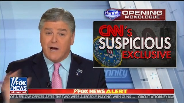 Hannity: Did Mueller's Office 'Tip Off Their Favorite Fake News Network' On Roger Stone's Arrest?