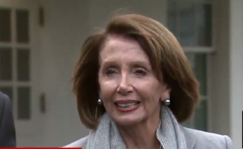 Nancy Pelosi Sticks Knife In Trump After Meeting: Federal Workers Can't Ask Daddy For Money