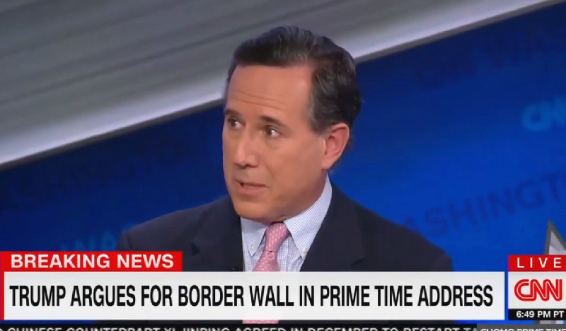 Rick Santorum: Trump's Speech Was A 'Win' Because He Showed Compassion And A 'Softer Side'