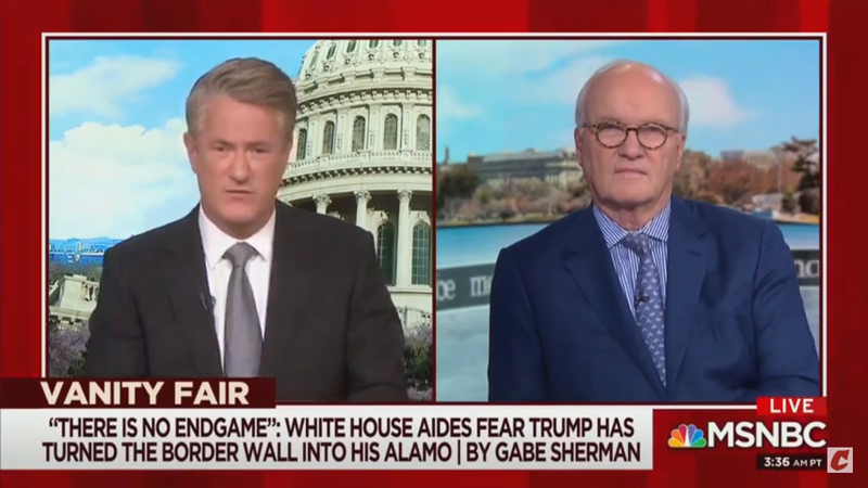 Morning Joe's Mike Barnicle: Trump Could Be Dragged From The Oval Office 'Kicking And Screaming'