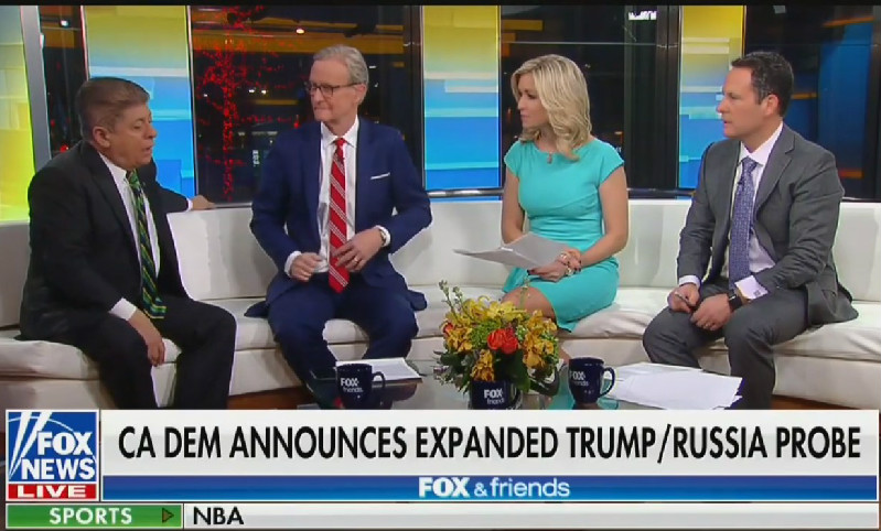 Fox & Friends Host Calls On Trump To Open Probe Into Adam Schiff For 'No Reason'