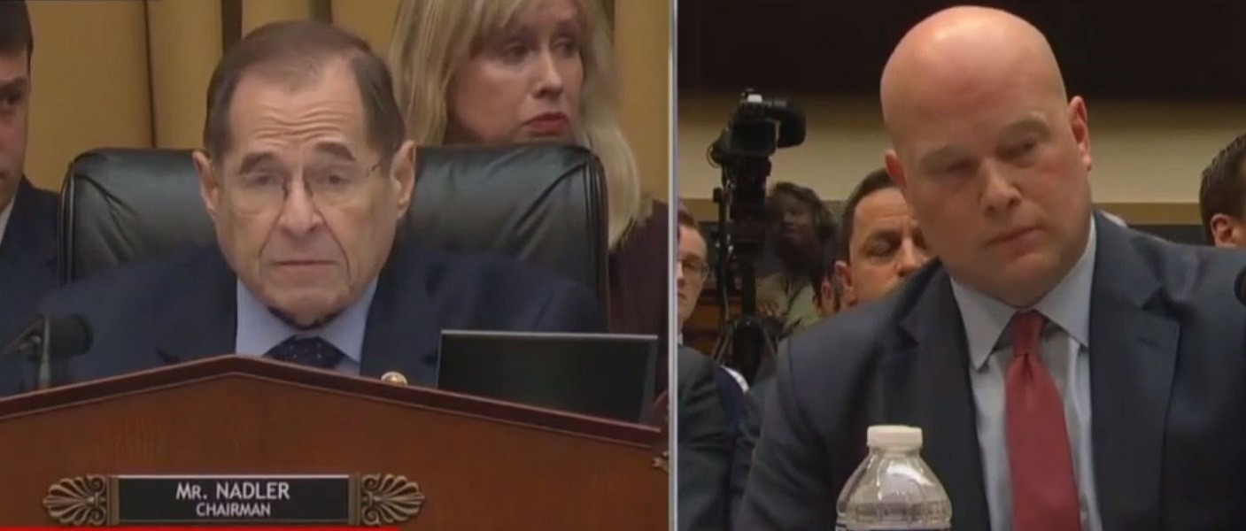 Matt Whitaker Helpfully Suggests Jerry Nadler Should Reclaim His Time