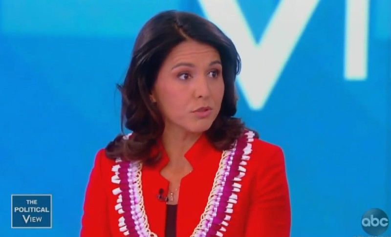 Tulsi Gabbard: Bashar al-Assad Gassed His Own People, But So Did 'Other Terrorist Groups'