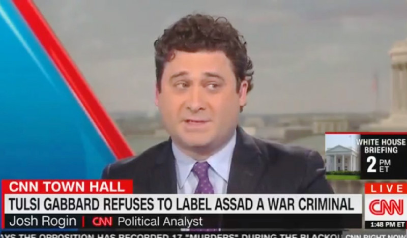 CNN Analyst: Tulsi Gabbard Denying Assad's a War Criminal Is 'Un-American' and 'Beyond the Pale'
