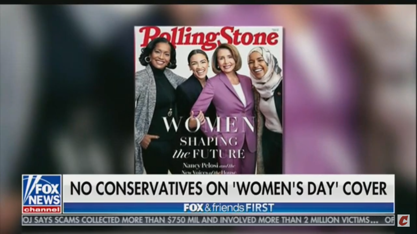 Fox News Guest: Why Aren't Kellyanne Conway And Sarah Sanders On The Cover Of Rolling Stone?