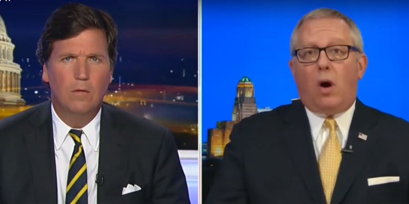 Michael Caputo Melts Down to Tucker Carlson, Demands Sedition Charges Against Russia Investigators
