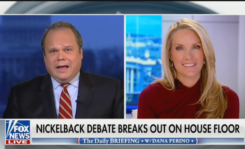 Fox News Analyst: 'I Think Nickelback Is Like Socialism'
