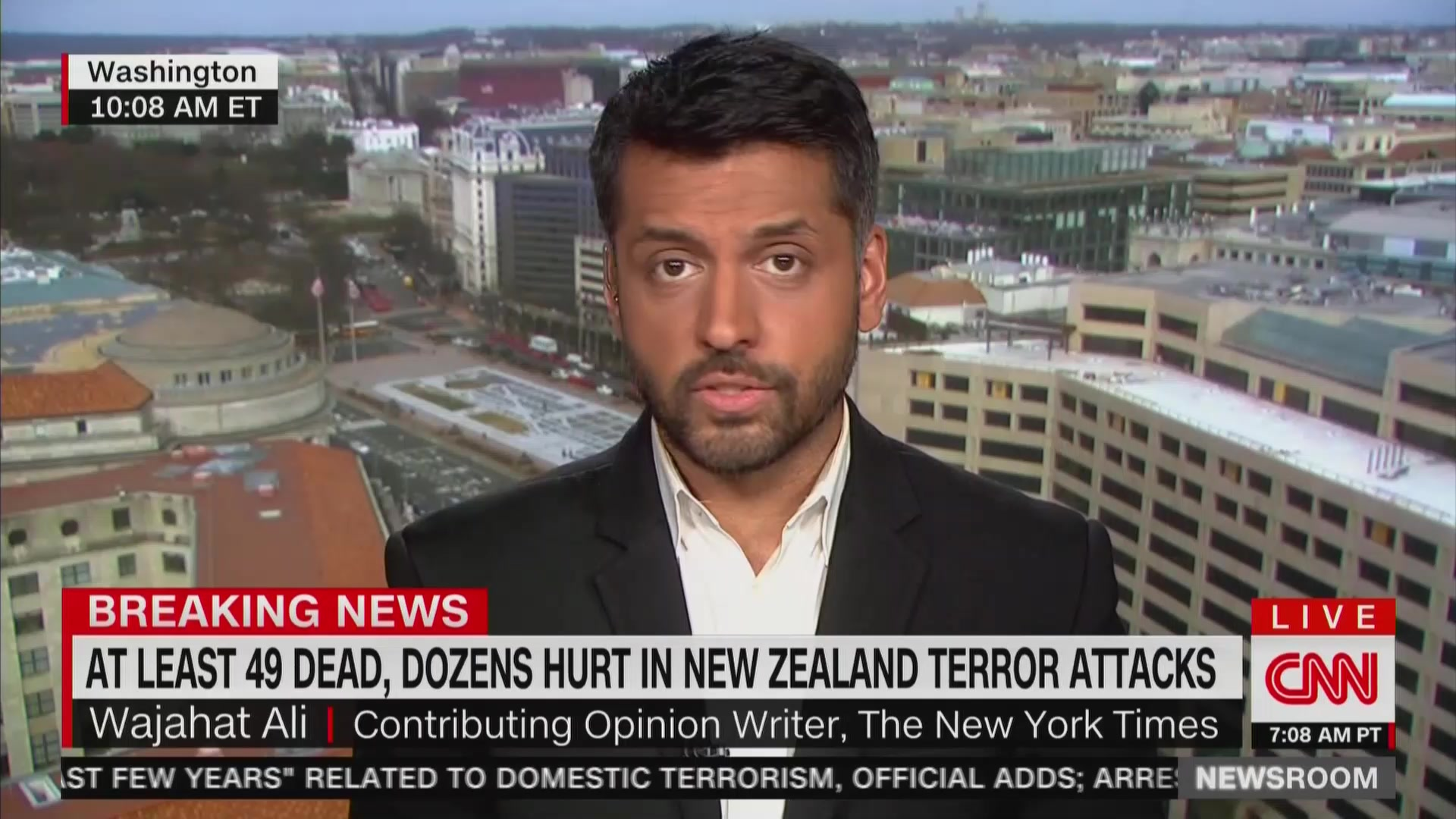 CNN Guest: New Zealand Shooter's Racist Ideology 'Has Been Mainstreamed By Republican Elected Officials'