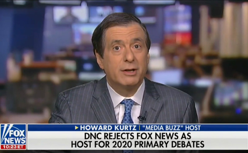 Howard Kurtz Defends Fox Against DNC: Don't Punish Our News Division for Our Opinion Side
