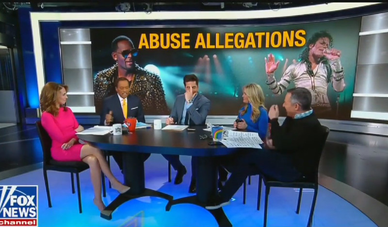 Fox's Jesse Watters Corrected By Co-Host After He Confuses Gayle King For Robin Roberts
