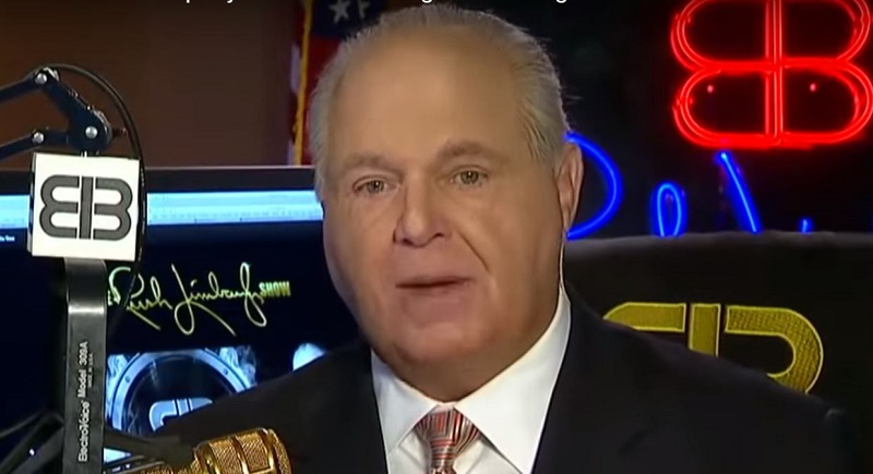 Rush Limbaugh Wonders if New Zealand Massacre Is False Flag by Leftist to Make Right-Wingers Look Bad