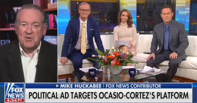Mike Huckabee: AOC Could Be 'The Manchurian Candidate' Whose Questions Are Prepared For Her