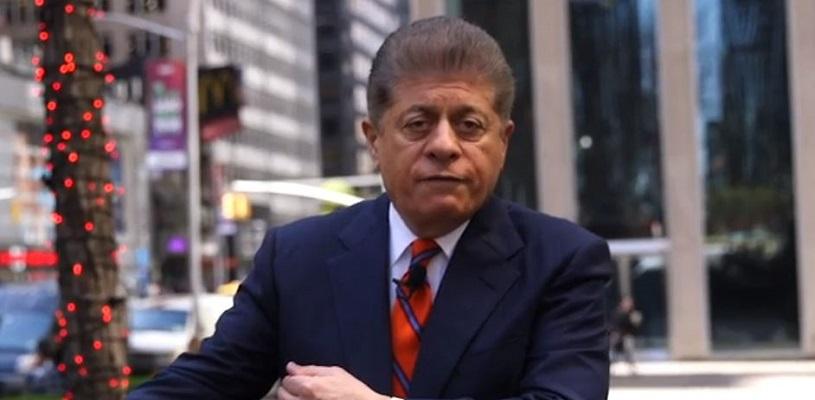 Fox's Napolitano Calls Trump's Behavior 'Criminal,' Says He Obstructed Justice in Mueller Probe