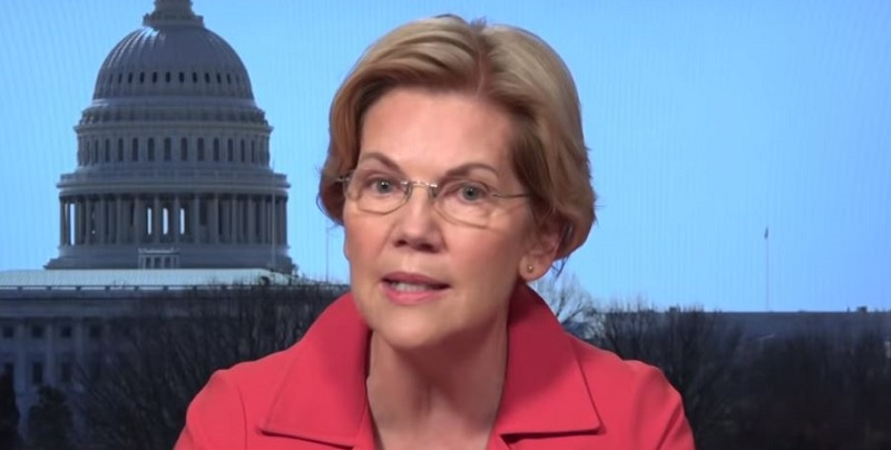 Elizabeth Warren Calls for House to Begin Impeachment of President Trump