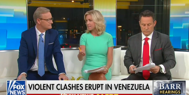 Fox's Brian Kilmeade: I Wish Trump Would Phone Putin So They Can Sort Out Venezuela