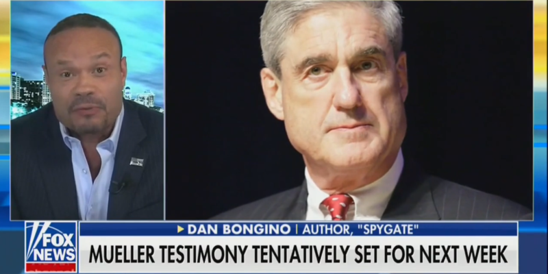 Dan Bongino: Mueller's Testimony Will 'Blow Up Spectacularly In The Democrats' Faces'