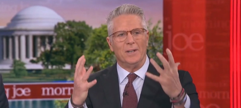 MSNBC's Donny Deutsch: The Socialism Word Will Get Trump Re-Elected