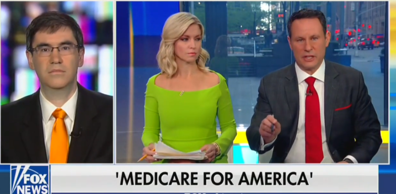 Fox's Brian Kilmeade Warns Seniors They'll Lose Medicare, Run Out Of Doctors Under Democrats' Plans