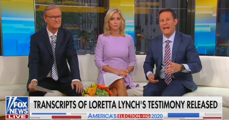 Fox & Friends Are Still Talking About Hillary Clinton And Bashing James Comey