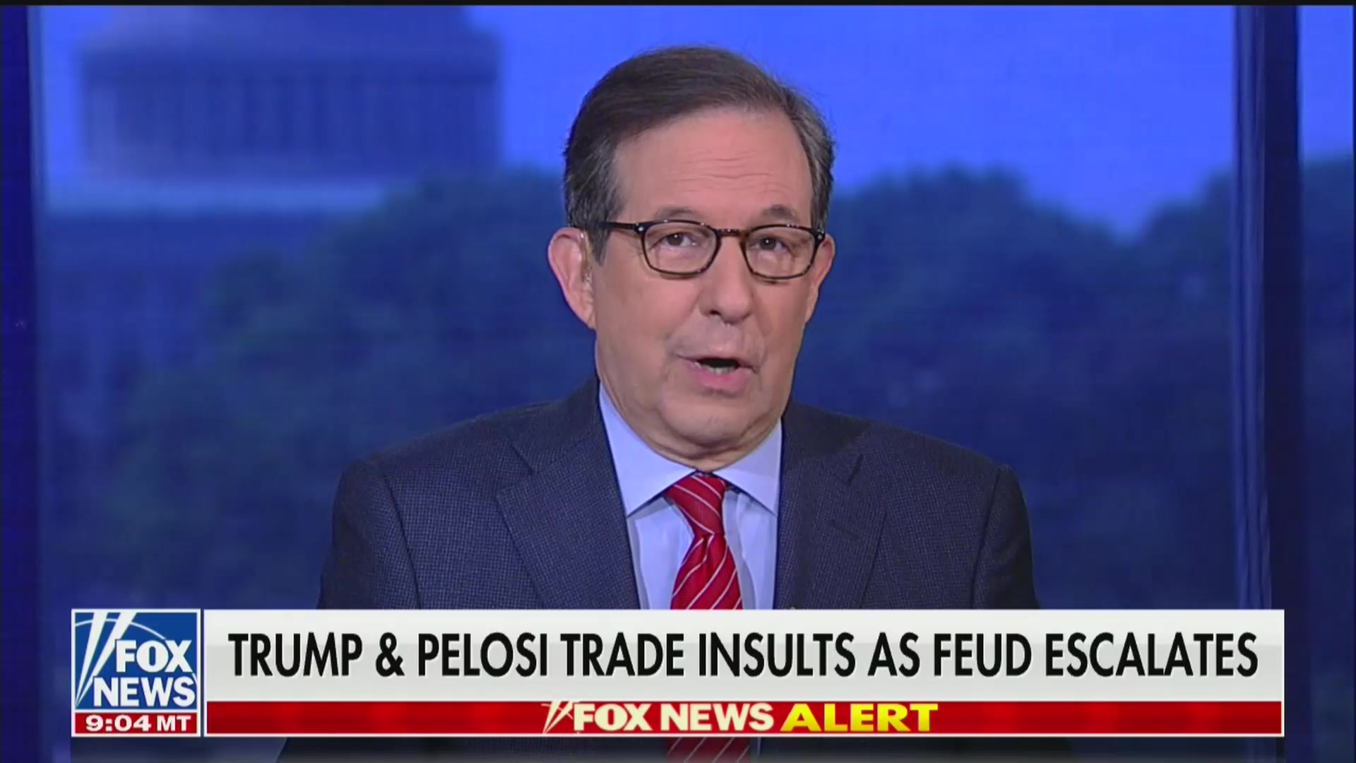 Fox News' Chris Wallace: Nancy Pelosi Is 'Clearly' Getting Under Trump's Skin