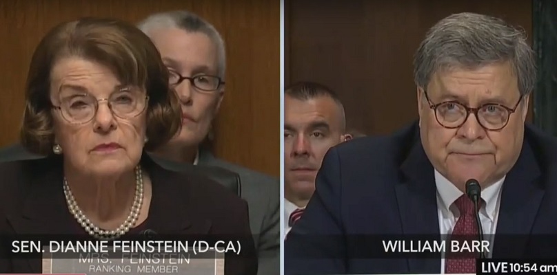WATCH: Barr's Ridiculous Explanation of the Difference Between Firing and Removing a Special Counsel