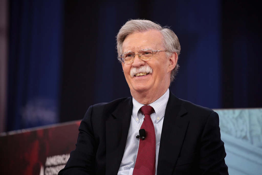 John Bolton Warns Of Troubling Warnings From Iran As US Strike Group Enters Region