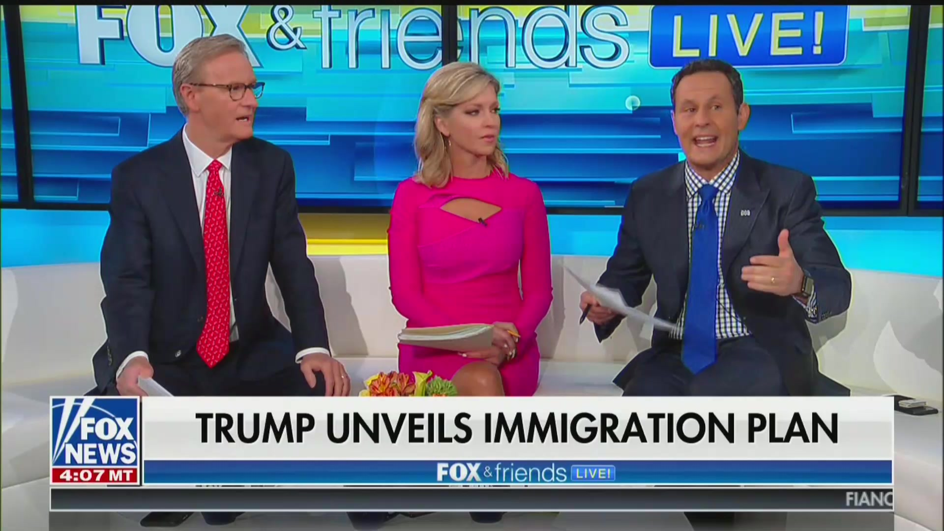 Fox & Friends' Brian Kilmeade: Crisis at Border Is 'Almost Like' 9/11