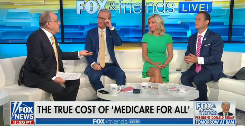 'Fox & Friends': Government Could Send You To The Worst Hospital Under Medicare-For-All