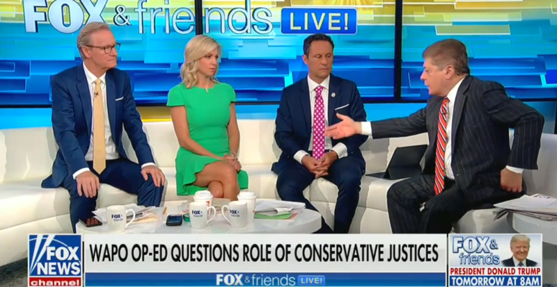 Fox's Judge Nap: Roe v. Wade Was The Worst Decision Since Dred Scott Slavery Case