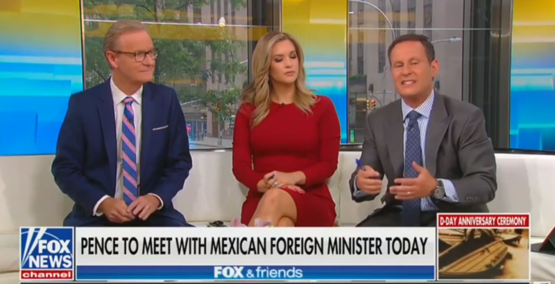 Fox's Brian Kilmeade On Immigration: Somebody Showed Up With AIDS, Died Yesterday