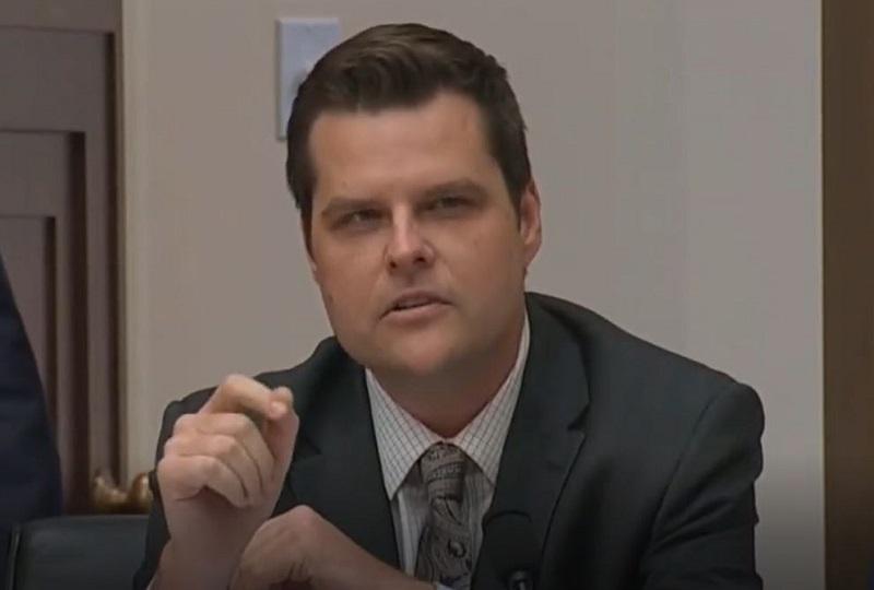 Matt Gaetz Gave $28,000 in Taxpayer Money to Company Linked to Racist Speechwriter