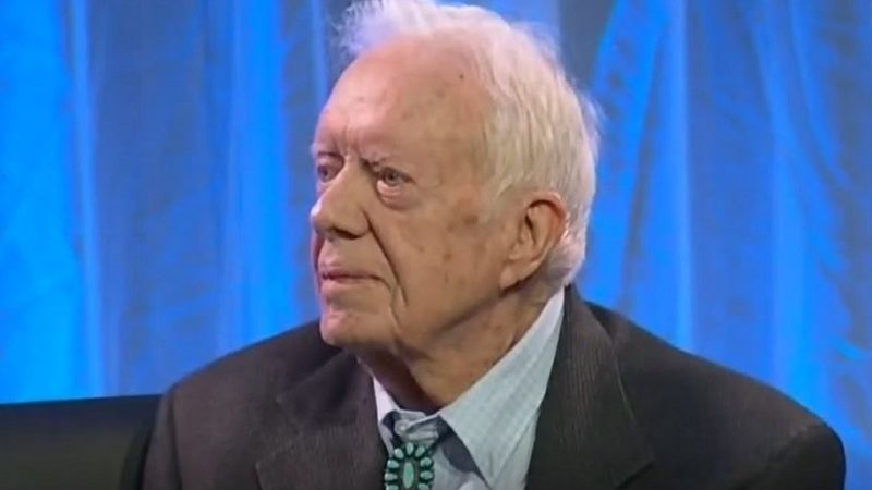 Jimmy Carter Says Russian Interference Put Trump in Office, Makes Him an 'Illegitimate' President