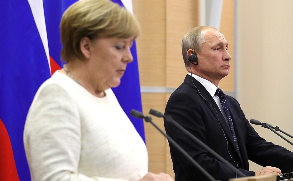 Trump Threatens Sanctions On Germany Over Russian Pipeline