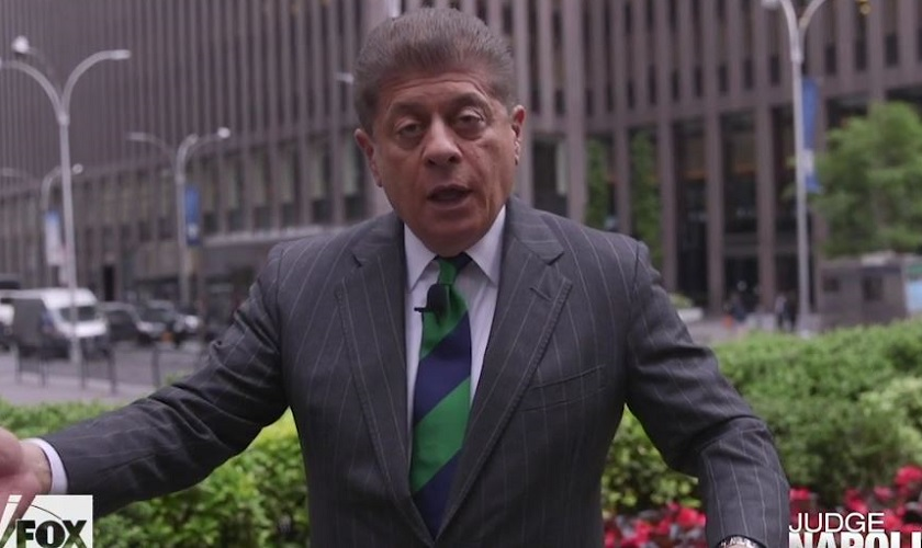 Fox's Judge Napolitano Tears Into Mueller for Not Indicting Trump: 'No One Is Above the Law'