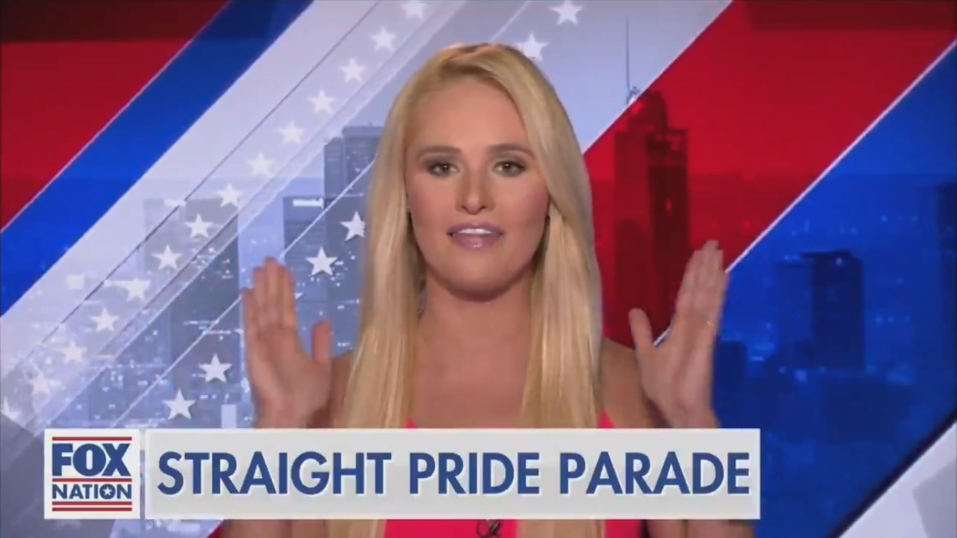 Fox's Tomi Lahren Touts 'Straight Pride Parade' Run by Right-Wing Extremists