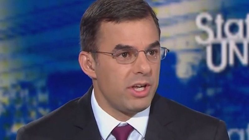 Justin Amash Tells Jake Tapper He Could Mount a Third-Party Run for President in 2020