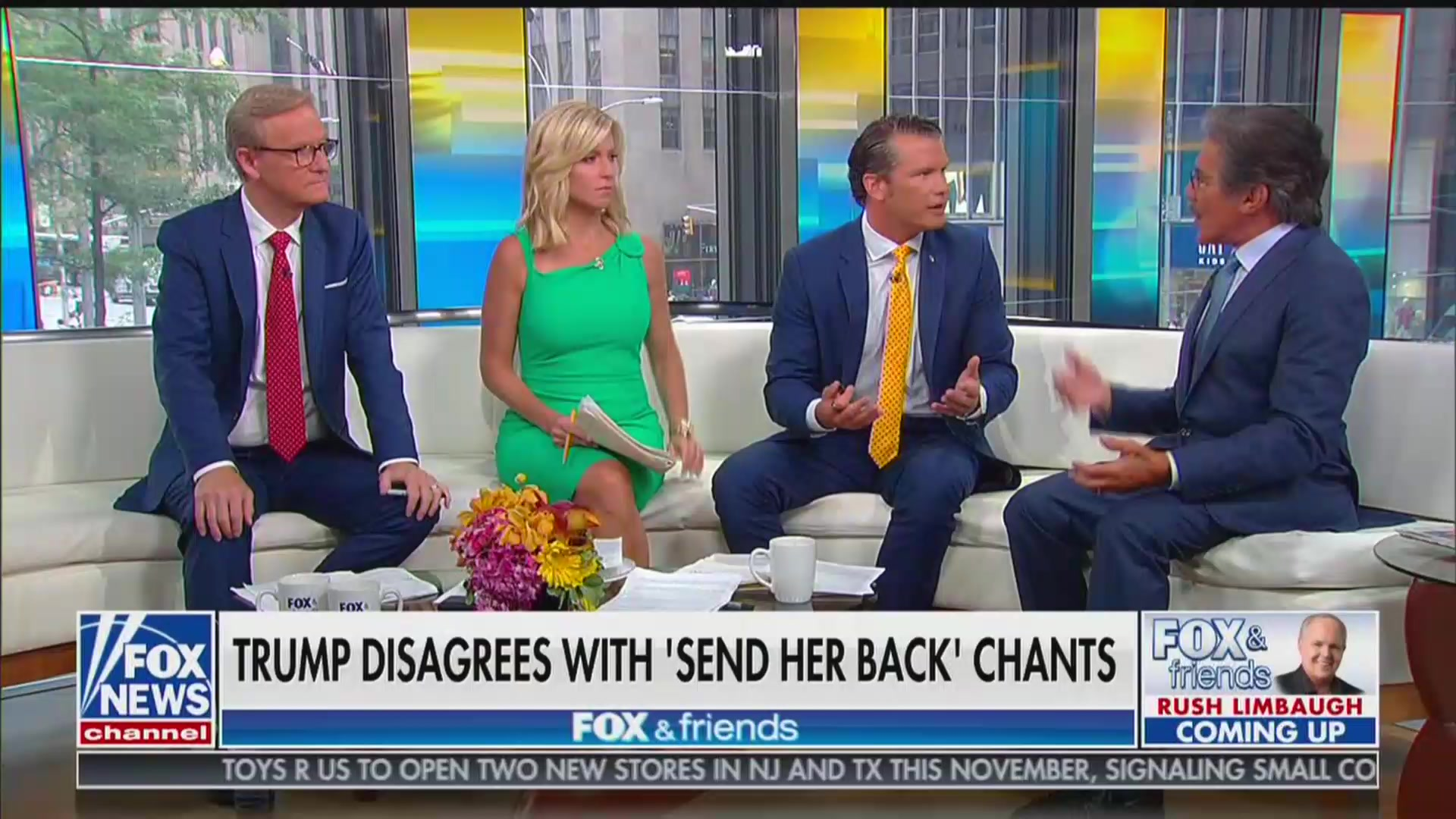 Fox's Pete Hegseth to Geraldo Rivera: I Can Tell You to Go Back to Where You Came From