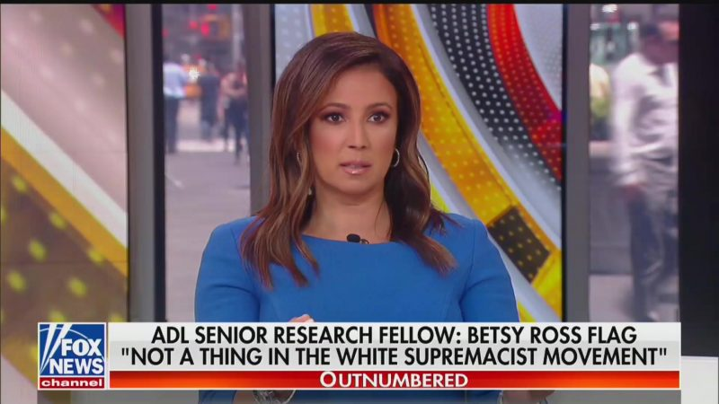 Fox News Anchor Julie Banderas Falsely Claims It's Illegal to Burn the American Flag